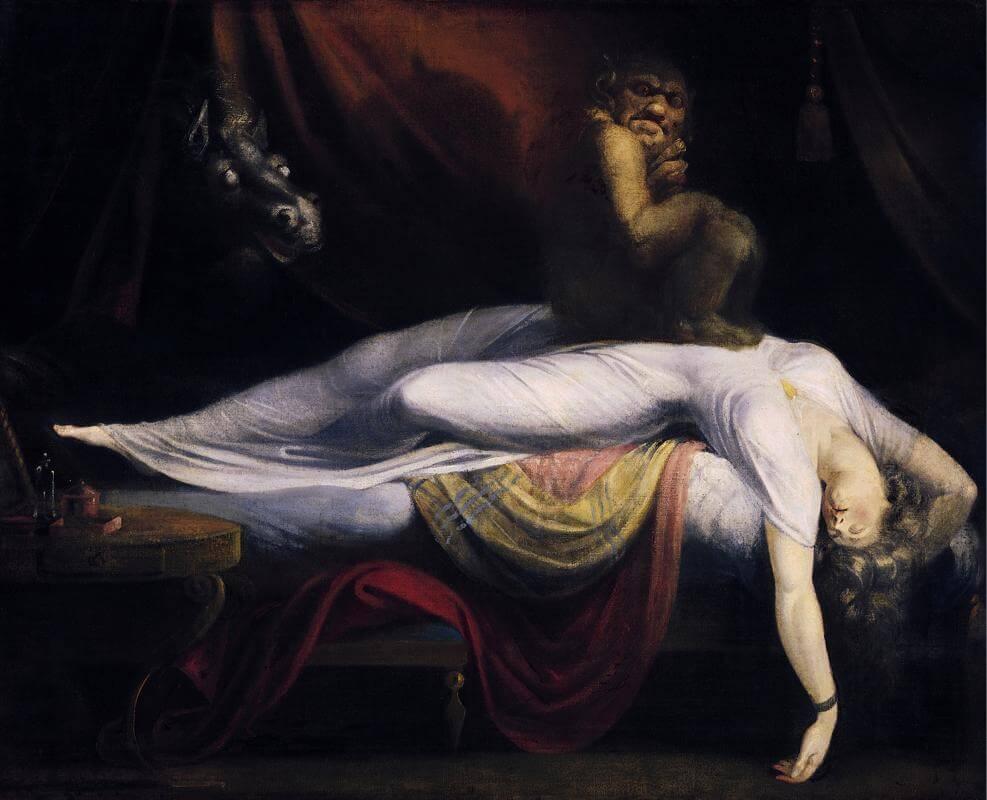Le Cauchemar de Johann Heinrich Füssli, 1781